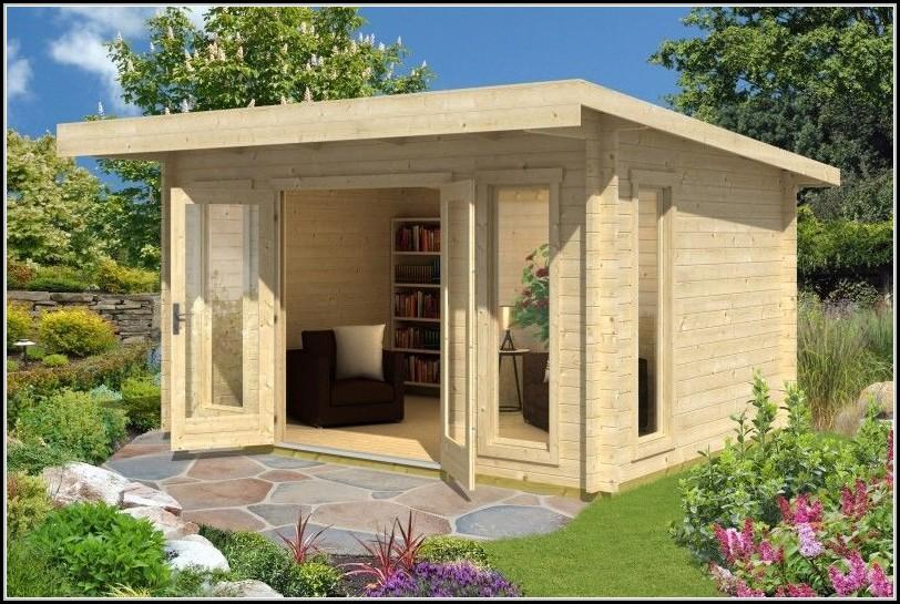 Gartenhaus Holz 44mm