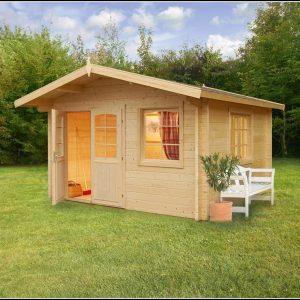 Gartenhaus Holz Flachdach Gebraucht