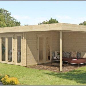 Gartenhaus Holz Flachdach Selber Bauen