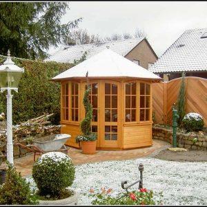 Gartenhaus Holz Isoliert
