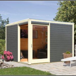 Gartenhaus Holz Mit Pultdach