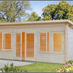 Gartenhaus Holz Pultdach