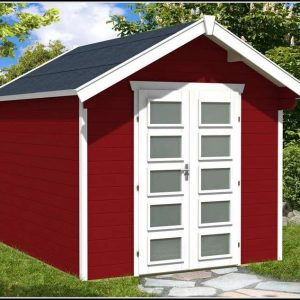 Gartenhaus Holz Schwedenrot