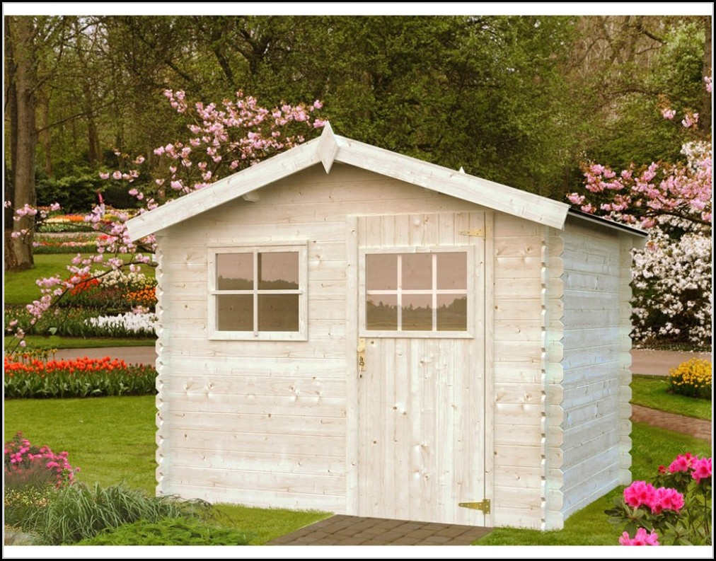 Gartenhaus Holz Skandinavisch
