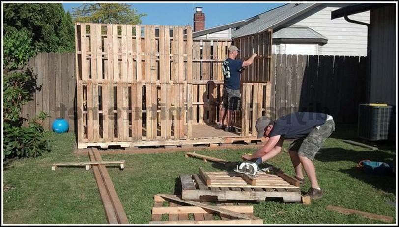 Gartenhaus Isoliert Selber Bauen