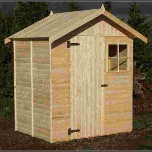 Gartenhaus Kubus Bausatz