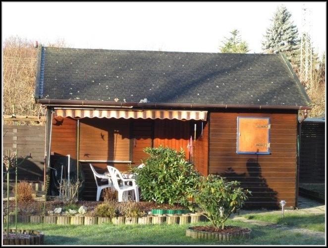 Gartenhaus Metall Container