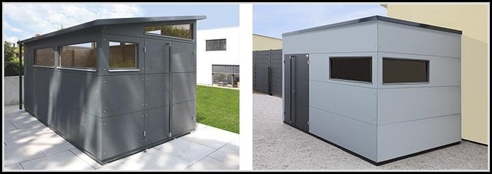 Gartenhaus Metall Modern