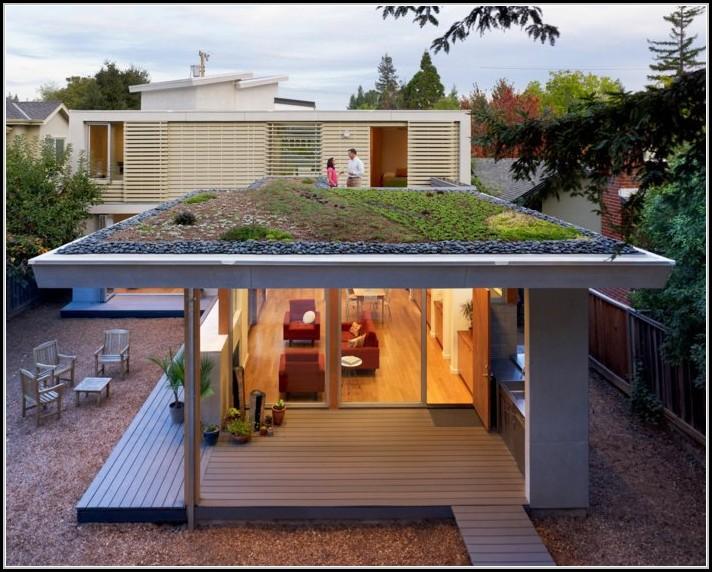 Gartenhaus Mit Flachdach Modern
