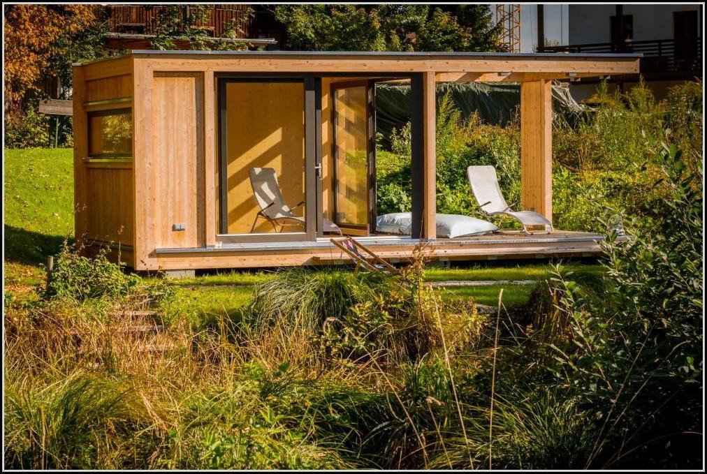 Gartenhaus Mit Kaminofen