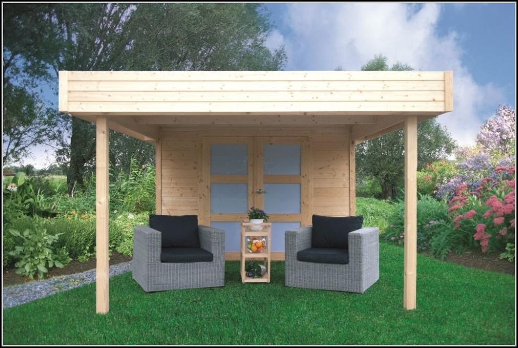 Gartenhaus Mit Vordach