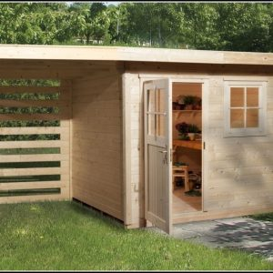 Gartenhaus Pultdach Selbst Bauen