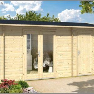 Gartenhaus Satteldach Holz