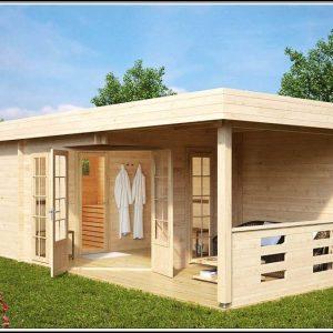 Gartenhaus Sauna Dusche