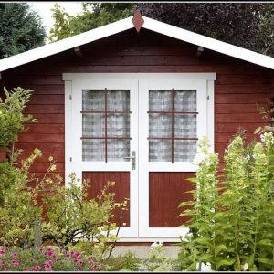 Gartenhaus Schwedenrot Farbe