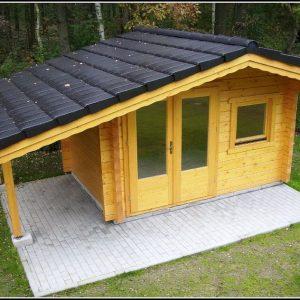 Gartenhaus Selber Bauen Holz