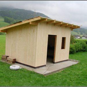 Gartenhaus Selber Bauen Holz Anleitung
