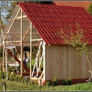 Gartenhaus Selbstbau Einer Hobbywerkstatt