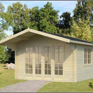 Gartenhaus Stahl Glas