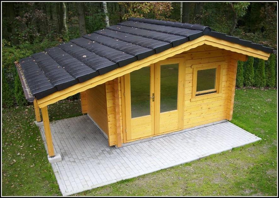 Holz Gartenhaus Selber Bauen
