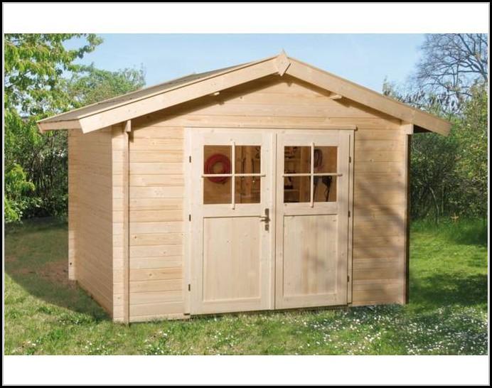 Holztr Gartenhaus
