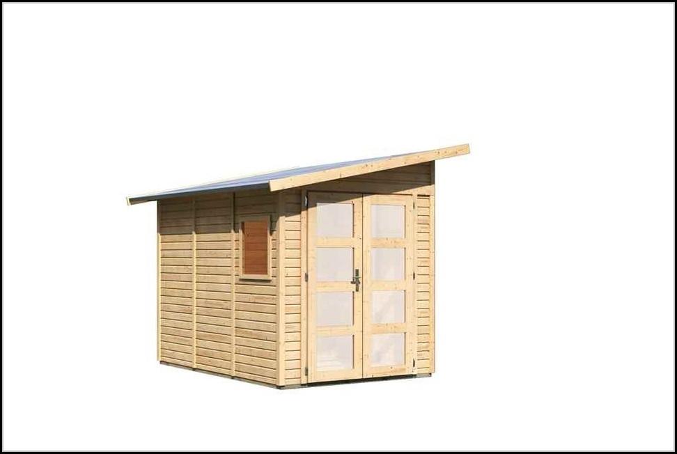 Karibu Gartenhaus Premium
