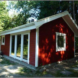 Kleines Gartenhaus Schwedenstil
