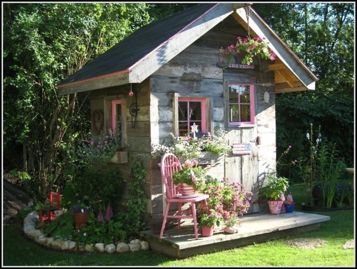Kleines Gartenhaus Selber Bauen
