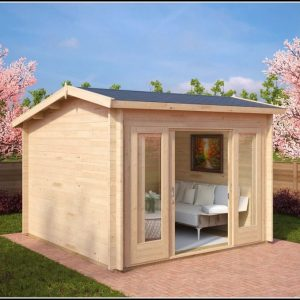 Luxus Gartenhaus Holz