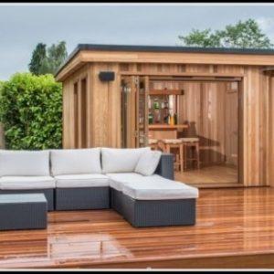 Luxus Gartenhaus Zum Wohnen