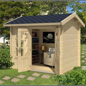 Mini Gartenhaus Kunststoff