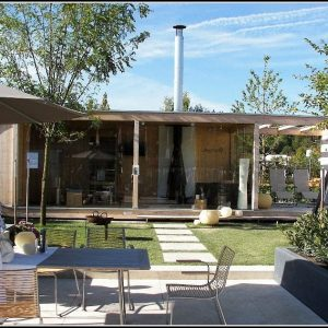 Modernes Gartenhaus Holz