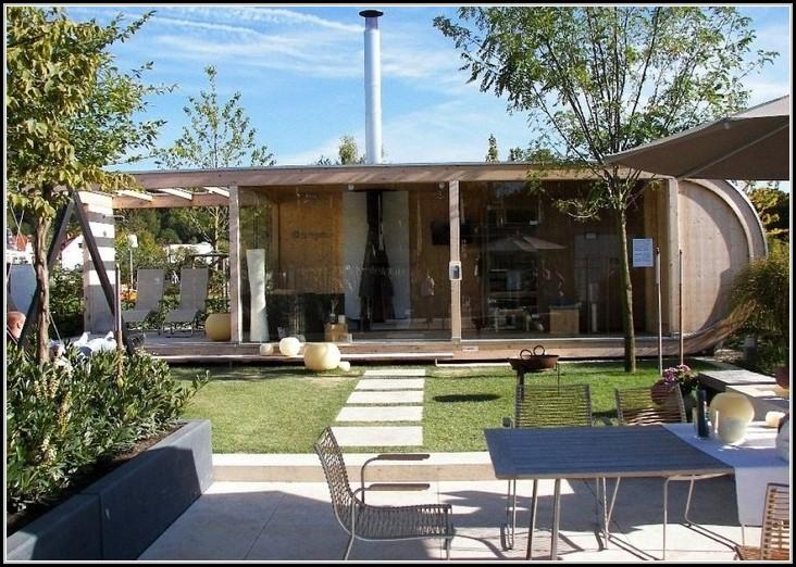 Modernes Gartenhaus Mit Terrasse