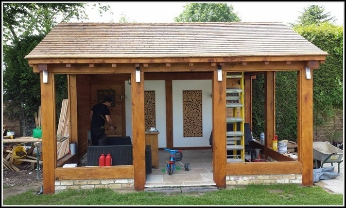 Modernes Gartenhaus Selber Bauen