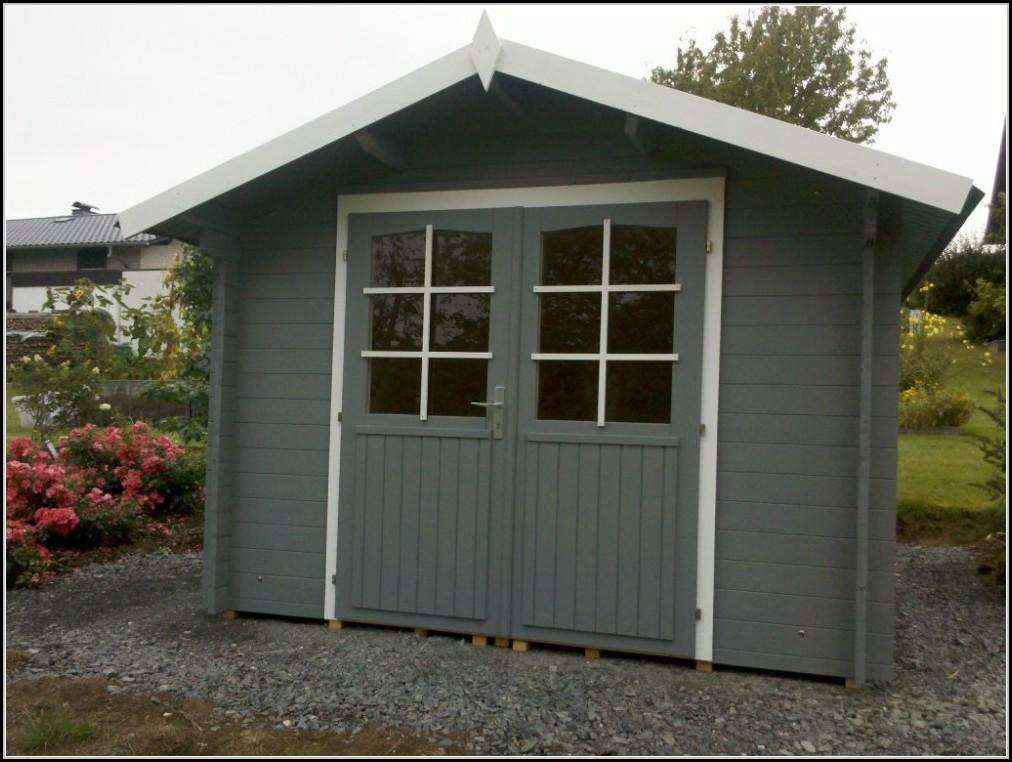 Montage Gartenhaus Holz