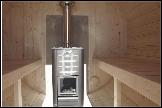 Sauna Gartenhaus Holzofen