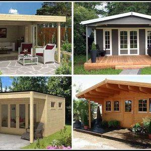 Umbauter Raum Gartenhaus Mit Vordach Berechnung