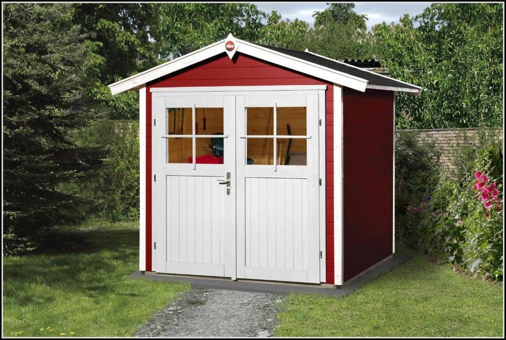Weka Gartenhaus Schwedenrot