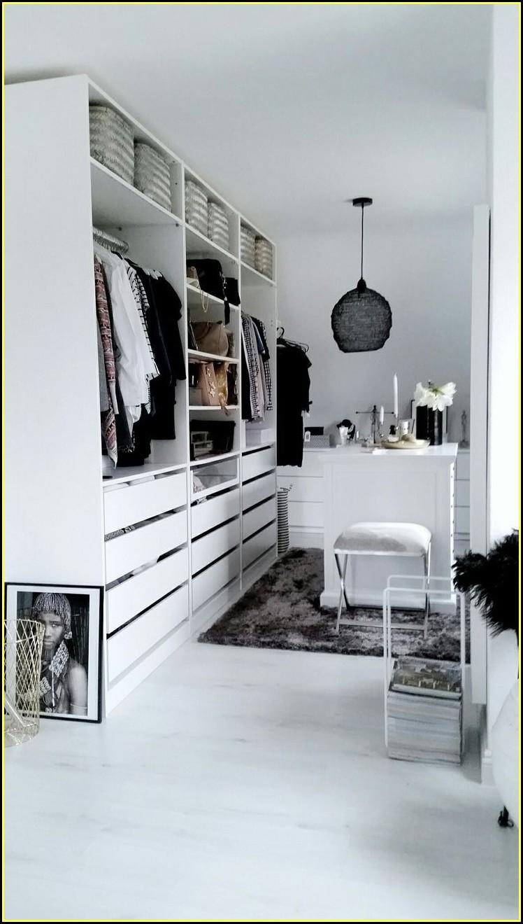 Ankleidezimmer Gestalten Beispiele Ikea