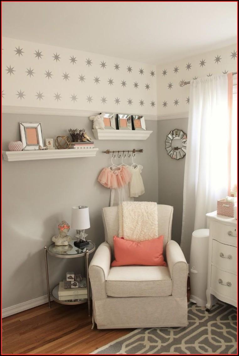 Babyzimmer Deko Grau Rosa