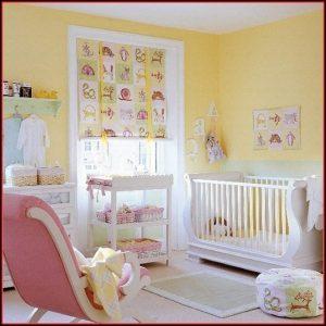 Babyzimmer Gelb Grau