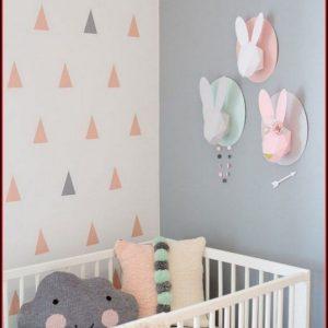 Babyzimmer Ideen Gestaltung Wände Streichen