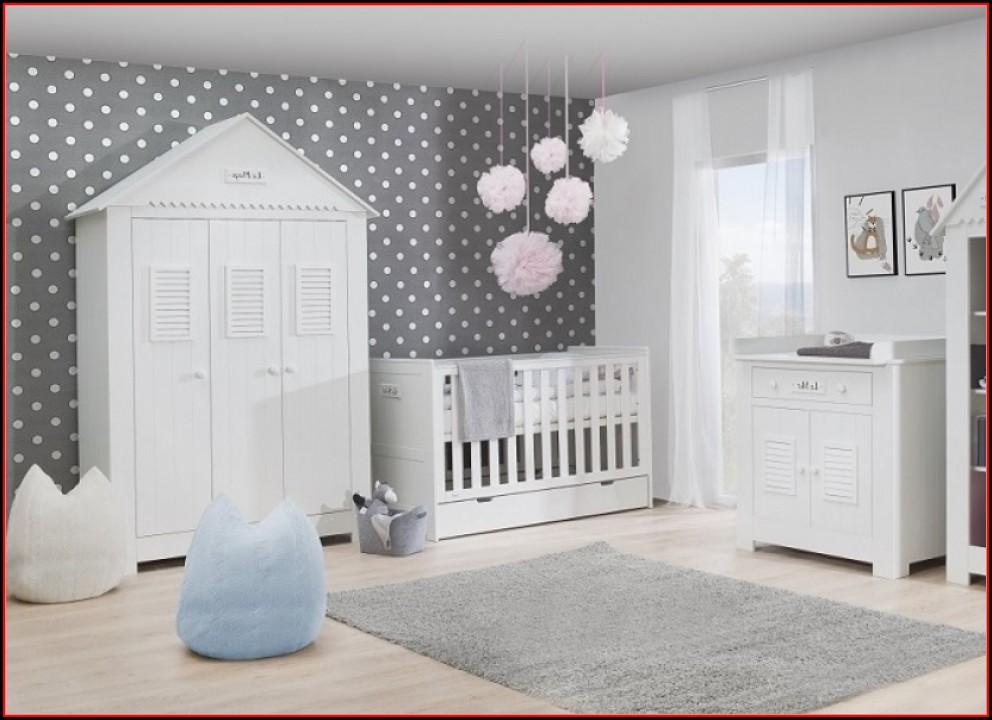 Babyzimmer Komplett Set Weiß