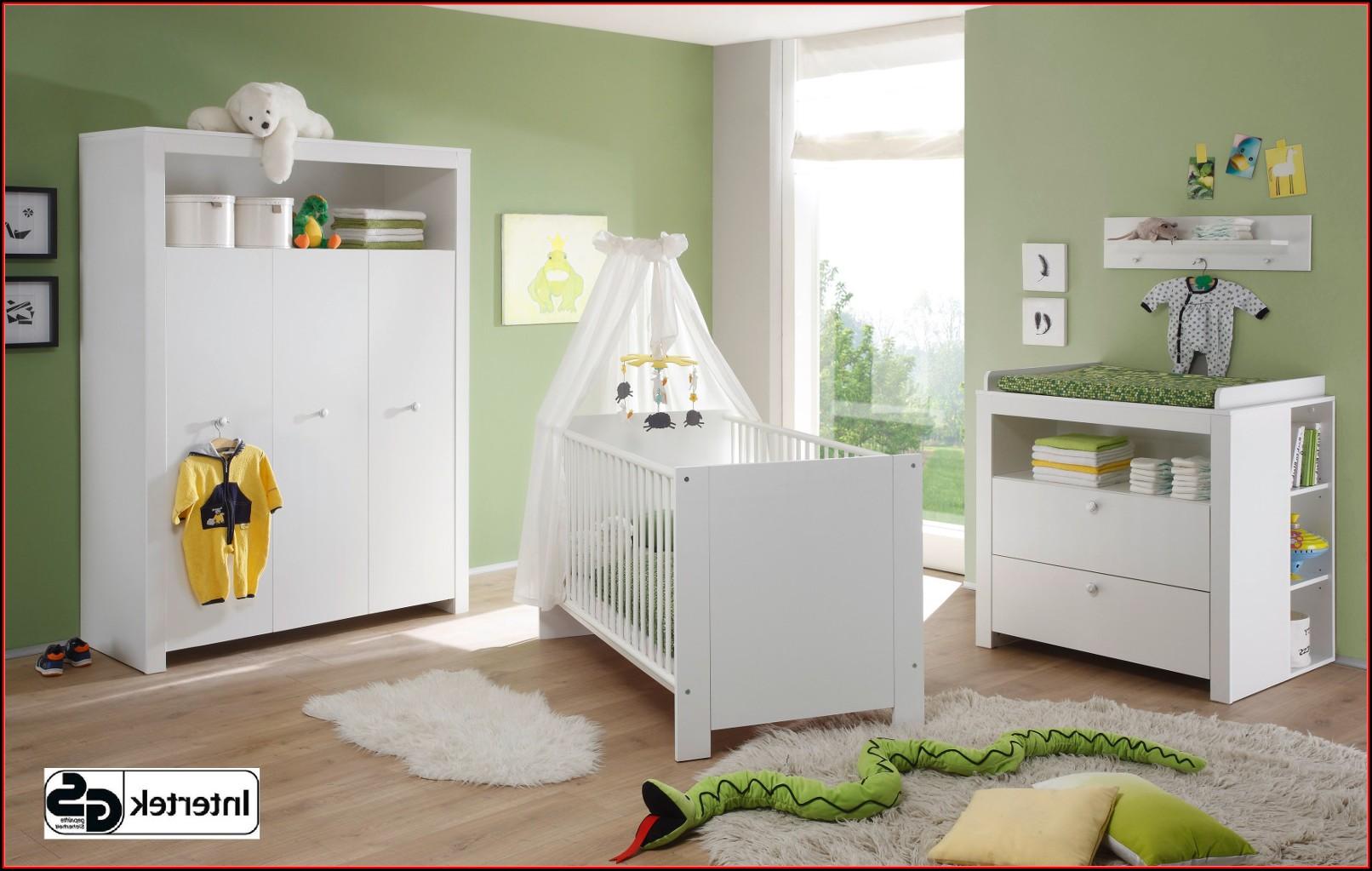 Babyzimmer Komplett Weiß Grau
