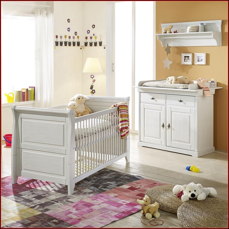 Babyzimmer Komplett Weiß Massiv