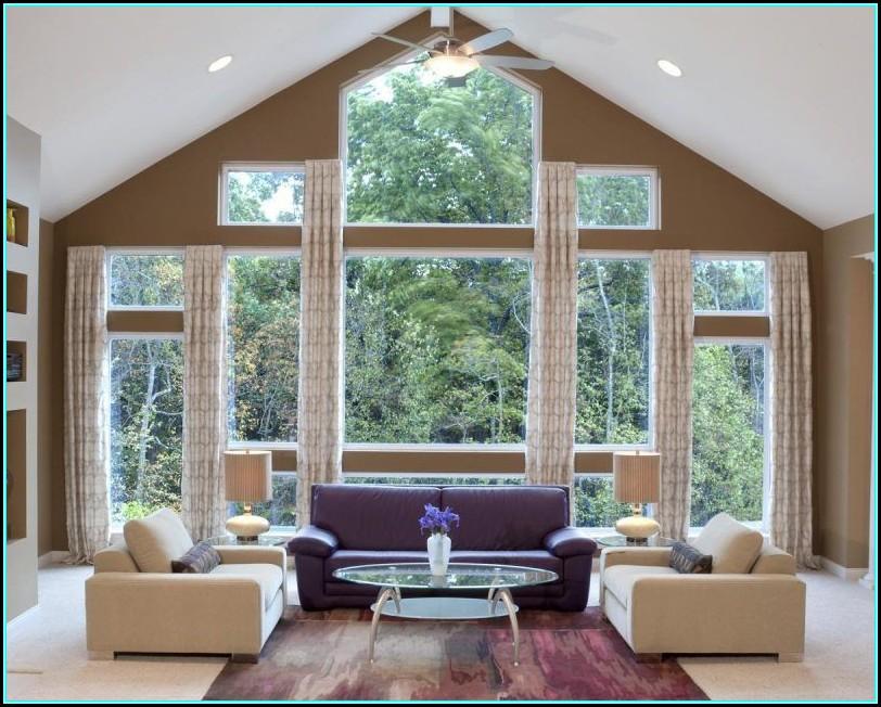 Dekoideen Wohnzimmer Fenster