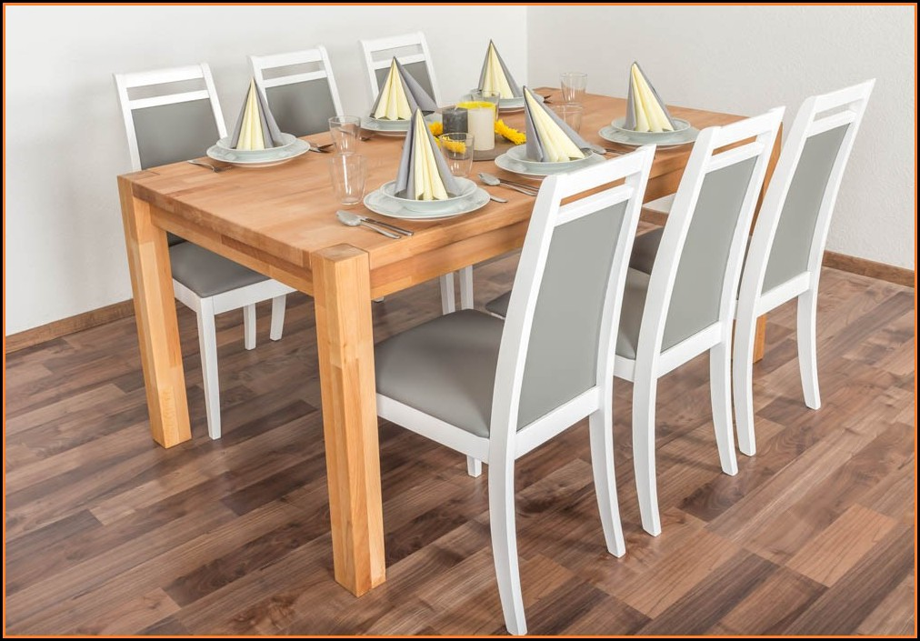 Esstisch Stühle Grau Set