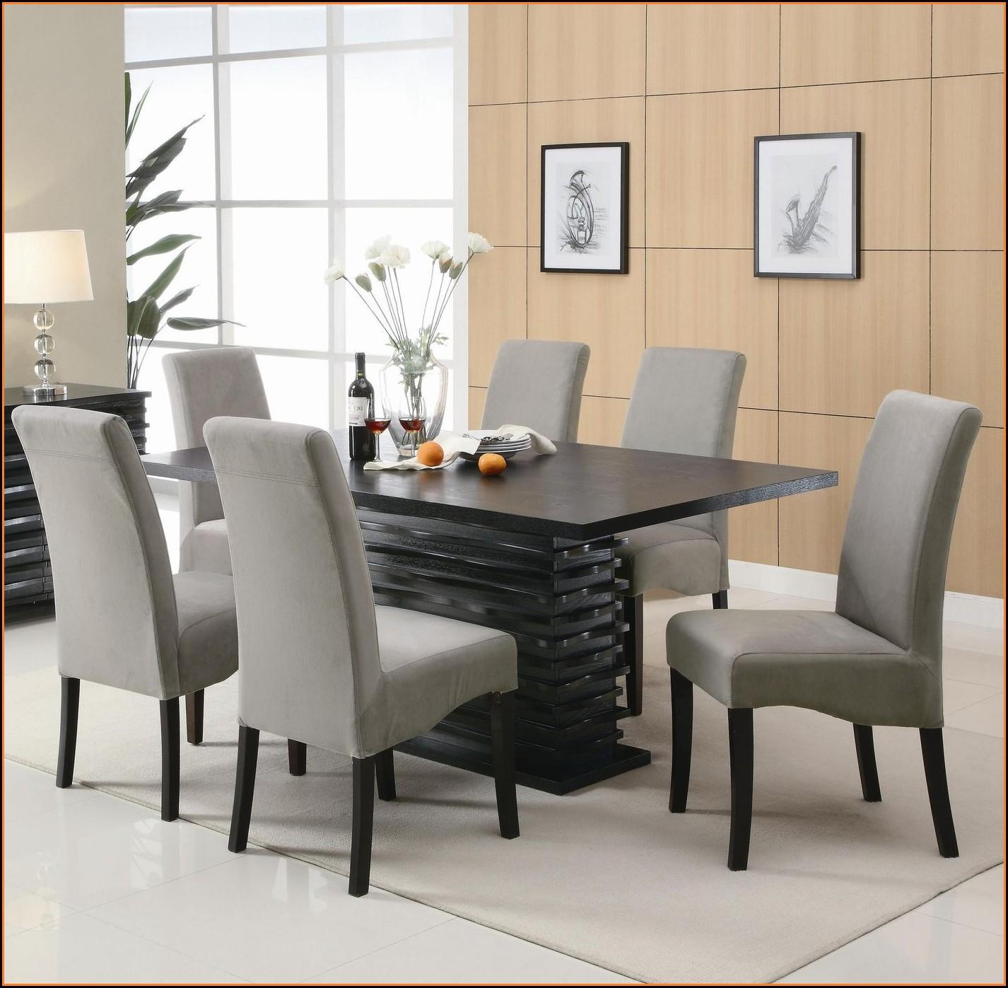 Esstisch Stühle Modern Schwarz Esszimmer House Und