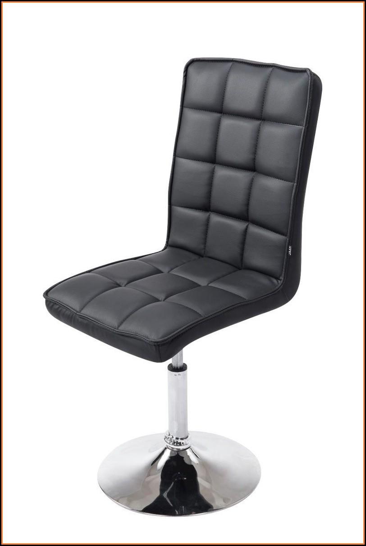 Esszimmerstühle Drehbar Schwarz