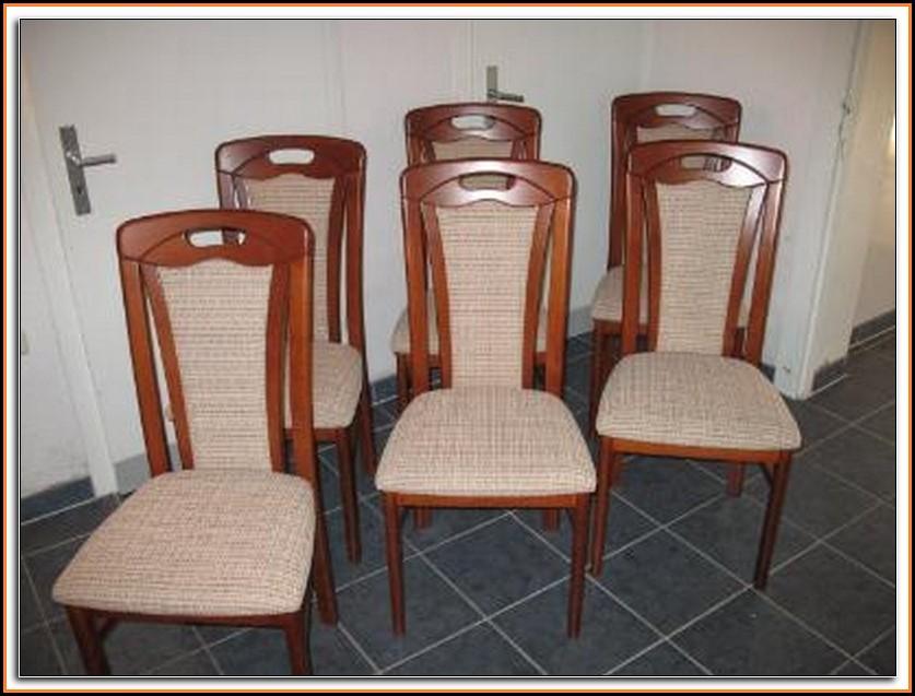 Esszimmerstühle Grau 6er Set